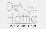 De Home inside we care Logo